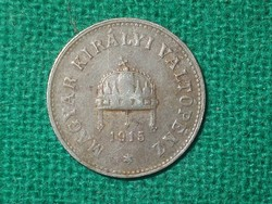 1915 Ritka Vas 10 Fillér !