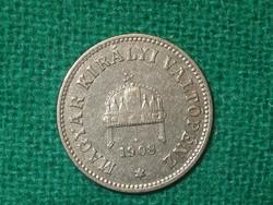 10 Fillér 1908 ! Szép !