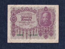 Ausztria 20 Korona 1922 / id 10745/