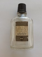 Retro KHV Alba Regia kölnis üveg régi parfümös
