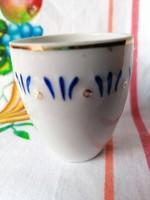 Hollóházi kupicás pohár (pótlásnak)