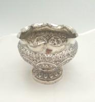 Antik ezüst kézzel készített kínáló 177 g