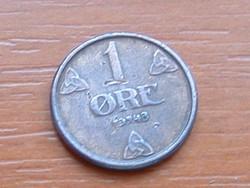 NORVÉGIA 1 ŐRE 1948 #
