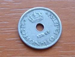 NORVÉGIA 10 ŐRE 1947 #