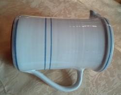 Minimalista stílusú kerámia kancsó , 1 literes