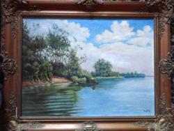 Gyönyörű Nyilasy Sándor festmény