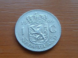 HOLLAND 1 GULDEN 1969 NI. #