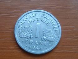 FRANCIA 1 FRANC FRANK 1944 VICHY ALU #