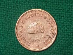 2 Fillér 1894 !
