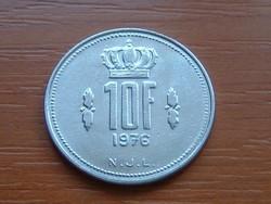 LUXEMBURG 10 FRANK 1976 #