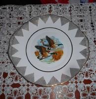 Arany vadlúdas lapos tányér - kínáló 27 cm