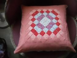 Díszpárna / patchwork /