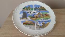 Dísz tányér  eladó!Montréal Canada