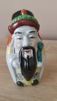 Kínai porcelán buddha figura eladó!Kézzel festett.