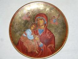 Ortodox madonna  porcelán