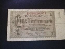 Régi német papírpénz