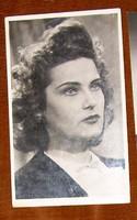 Dedikált Karády Katalin fotólap