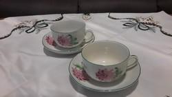 Herendi tertia jelzésű teás csésze+alj
