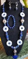 Lapis lazuli - magnezit szett