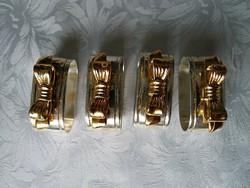 4 db szalvétagyűrű
