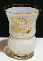 Szecessziós kézi  festett váza