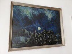 Péli Tamás: mese kastély teliholdas éjjel