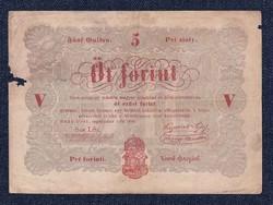 Szabadságharc 5 Forint bankjegy 1848 / id 11081/
