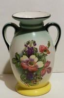 Régi Csehszlovák art deco  váza, hibátlan ,jelzett