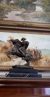 Napóleon bronz szobor