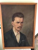 F03 Zombori Moldován Béla: József A. portré