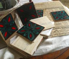 Antik kézizománcozású burkolólapok