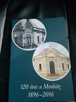 A Komáromi zsidó hitközség kiadványa.120 éves a Menház.