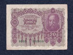 Ausztria 20 Korona 1922 / id 10746/