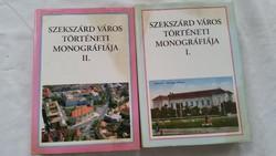Szekszárd Város Történelmi Monográfiája könyv eladó!