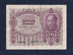 Ausztria 20 Korona 1922 / id 10747/