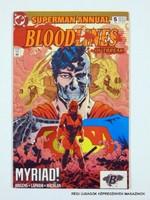 1993 ?  /  SUPERMAN ANNUAL BLOODLINES OUTBREAK   /  Külföldi KÉPREGÉNY Szs.:  9707