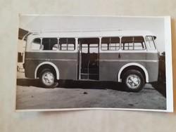 Régi fotó vintage busz autóbusz fénykép