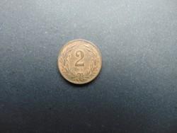 2 fillér 1910 K.B.