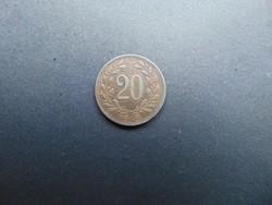 20 heller 1918 Ausztria
