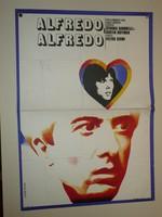Karácsonyi ajándék ötlet! Antik filmplakát: ALFREDO, ALFREDO