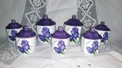Kék rózsa fűszertartók