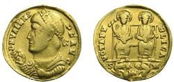 Constantinus II - Zeno Valens 364-378 Solidus (3,78 g)