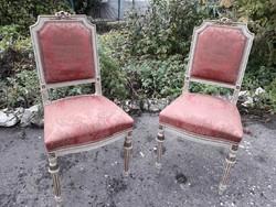 2 db. klasszicista szék.