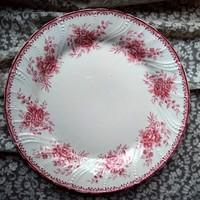 Fajansz tányér Fischer Emil jelzéssel