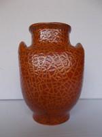 Két füles retro kerámia váza