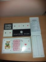 Kártyapaklik Ferd Piatnik&Söhne Wiena  Nr.2696 Samba Canasta