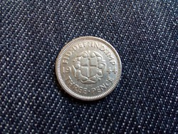 Anglia VI. György .500 ezüst 3 Pence 1944 / id 12712/