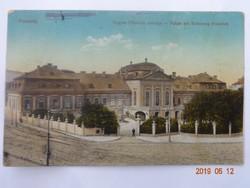 Régi képeslap: Pozsony, Frigyes Főherceg palotája, 1916