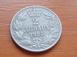 SZERB HORVÁT SZLOVÉN KIRÁLYSÁG 2 DINÁR 1925 (b) #