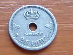 NORVÉGIA 25 ŐRE 1947 #